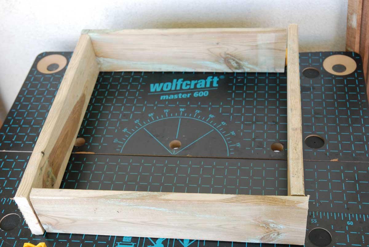 fabriquer un carré potager pour balcon ou terrasse