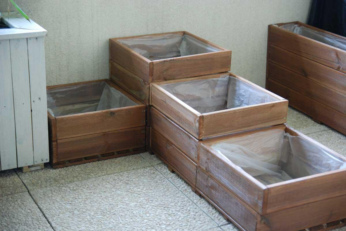 Fabriquer Terrasse En Bois Pas Cher fabriquer un carré potager pour balcon ou terrasse